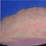 The Himalayas # 194 The Pink Glow, Roerich N.K. (Part 6)