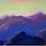 The Himalayas # 149 Mountain Ranges, Roerich N.K. (Part 6)
