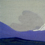 Roerich N.K. (Part 5) - Himalayas # 70 Glinting mountain peak
