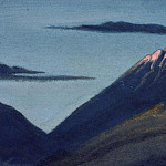 Roerich N.K. (Part 1) - The Himalayas # 154 The Glacier