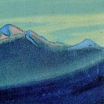 Roerich N.K. (Part 6) - Kanchenjunga # 112 (Rdeyuschaya at sunset vertex)
