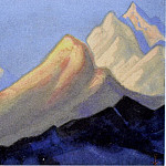 Roerich N.K. (Part 6) - Himalayas # 33 Mountains in the evening light