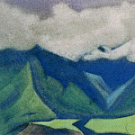 Roerich N.K. (Part 6) - The Himalayas # 123 Spurs of the rocks and the valley