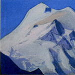 Himalayas # 90 Apex at sunrise, Roerich N.K. (Part 6)