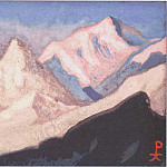 The Himalayas # 161, Roerich N.K. (Part 6)