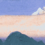 The Himalayas # 173 Morning Mists, Roerich N.K. (Part 6)