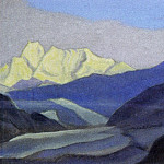 Roerich N.K. (Part 5) - Himalayas # 41 Mountain peaks and a glacier