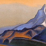 The Himalayas # 132 The Birth of Color, Roerich N.K. (Part 6)