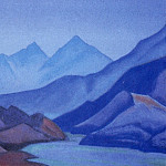 Roerich N.K. (Part 1) - The Himalayas # 160 The blue tops