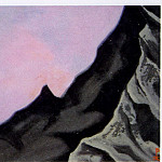 Roerich N.K. (Part 5) - Himalayas # 8 spurs rocks