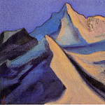 Roerich N.K. (Part 6) - Nanda Davy # 2 (Snow peak in blue shades)