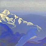 Himalayas # 81 Evening snow, Roerich N.K. (Part 6)