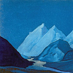 Roerich N.K. (Part 6) - Lahul # 16 Lahul (B moonlight)
