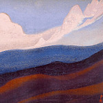 Roerich N.K. (Part 6) - The Himalayas # 59 Over the fallen ridge