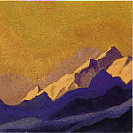 The Himalayas # 145, Roerich N.K. (Part 6)