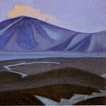 Roerich N.K. (Part 6) - Chantung # 45 (Himalayas. mountain peaks)
