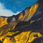 Roerich N.K. (Part 6) - Kuluta # 141 Kuluta (Yellow-purple mountains)