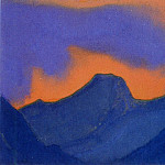 Blazing sunset # 20, Roerich N.K. (Part 6)