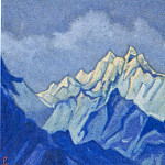 Himalayas # 68 Apex at dawn, Roerich N.K. (Part 6)