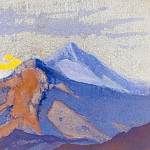 The Himalayas # 87 Morning Colors, Roerich N.K. (Part 6)