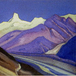 Roerich N.K. (Part 5) - Himalayas # 51 Mountain spurs
