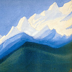 The Himalayas # 126 The First Rays of the Dawn, Roerich N.K. (Part 6)