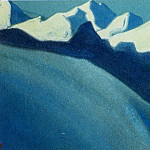 Roerich N.K. (Part 6) - Himalayas # 142 Mountains in the moonlight
