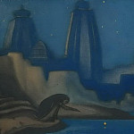 Lights on the Ganges # 18, Roerich N.K. (Part 6)