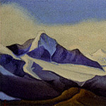 Roerich N.K. (Part 6) - The Himalayas # 39 of the Himalayas. Mountain country