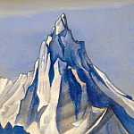 The Himalayas # 146 Aspiration to the sky, Roerich N.K. (Part 6)