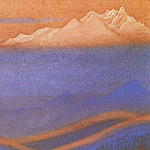 Roerich N.K. (Part 6) - The Himalayas # 18 Burning gave