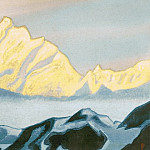 Roerich N.K. (Part 6) - The Himalayas # 125 Overshot Lights