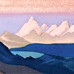 Roerich N.K. (Part 6) - Thang # 182 Thang ( Burning sunset)
