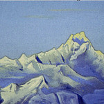 Roerich N.K. (Part 1) - Siniolchu # 89 (blue peaks. Morning)