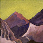 Roerich N.K. (Part 6) - The Himalayas # 157 The Purple Rocks