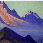 Roerich N.K. (Part 6) - Tibet boundary # 105 (fog, descended from the top)