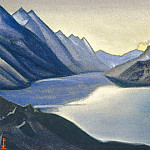 Lake of the Nagas. Kashmir # 9, Roerich N.K. (Part 6)