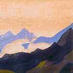 The Himalayas # 128 Morning Silence, Roerich N.K. (Part 6)