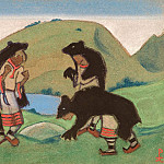 Elders in bearskins, Roerich N.K. (Part 6)