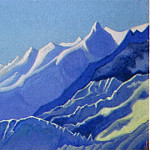 Himalayas # 113 Dawn in the mountains, Roerich N.K. (Part 6)