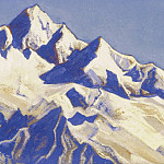 The Himalayas # 87 Snowy Peace, Roerich N.K. (Part 6)