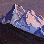 The Himalayas # 101, Roerich N.K. (Part 6)