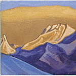 The Himalayas # 18, Roerich N.K. (Part 6)