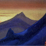 Roerich N.K. (Part 6) - Himalayas # 62 Velvety Cliffs