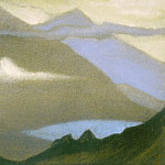 The Himalayas # 114 The Fault, Roerich N.K. (Part 6)