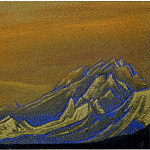 Roerich N.K. (Part 5) - The Himalayas # 41 The Golden Ridge
