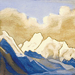 The Himalayas # 112 Frontier snow, Roerich N.K. (Part 6)