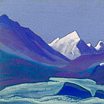 Himalayas # 83 High snow, Roerich N.K. (Part 6)