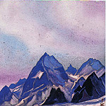 The Himalayas # 193, Roerich N.K. (Part 6)