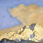 The Himalayas # 47 Snowy Range, Roerich N.K. (Part 6)